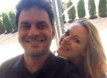 Jason with Emma Bell (Amy of The Walking Dead)